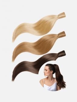 Ponytail Extensions Echthaar Original Clip-In