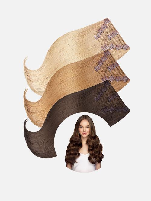Clip-In Extensions Set LUXURY Original Seidenglatt